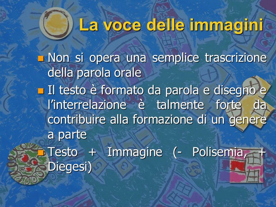 La voce delle immagini n Il testo è contenuto nel fumetto in due forme principali: n Il Phylactère o Bulle (rispettivamente dal greco φυλάκτεριον e dal latino bulla), sempre necessari n Il Récitatif, elemento opzionale