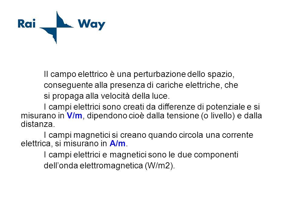 Concetto di Campo Elettrico Magnetico Il campo elettrico è una perturbazione dello spazio, conseguente alla presenza di cariche elettriche, che si pro