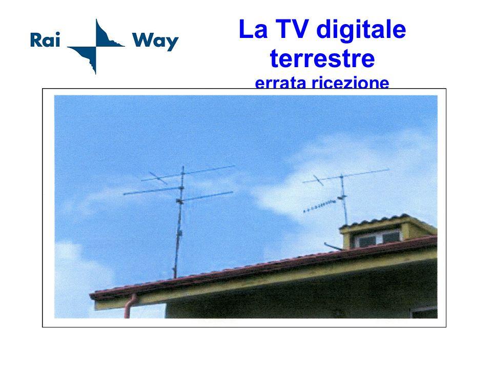 La TV digitale terrestre errata ricezione