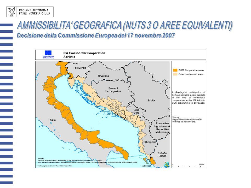 AUTORITA DI GESTIONE: Regione Abruzzo – Direzioni Affari Internazionali (AQ) SEGRETARIATO TECNICO CONGIUNTO c/o Regione Abruzzo – LAquila AUTORITA DI CERTIFICAZIONE: Regione Abruzzo – Servizio di Autorità di Certificazione (AQ) AUTORITA DI AUDIT: Regione Abruzzo - Struttura speciale di supporto Controllo Ispettivo Contabile (AQ) COMITATO CONGIUNTO DI CONTROLLO: Composto da rappresentanti nazionali e regionali/locali dei Paesi partecipanti