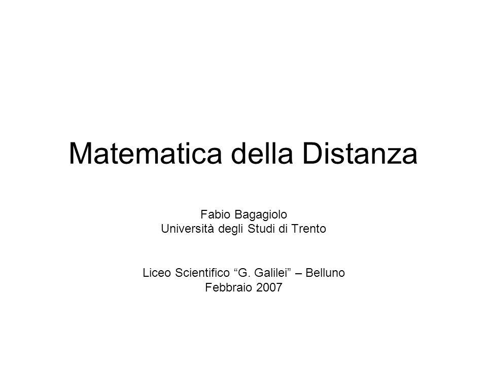 MATEMATICA Disciplina che si avvale di metodi deduttivi per lo studio di insiemi dotati di strutture e per lapplicazione dei suoi risultati alle scienze.