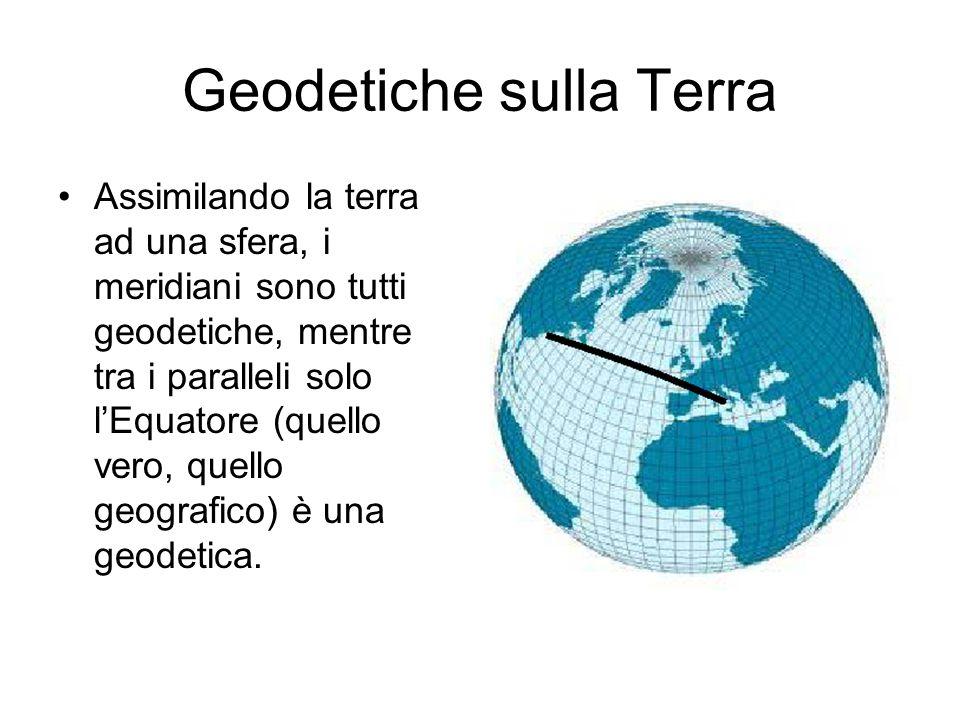 Volo Roma New York Ne segue che, pur essendo Roma e New York più o meno alla stessa latitudine, le rotte aeree non seguono certo il parallelo che collega le due città, ma seguono la geodetica, che passa più a nord, ma che è più corta.