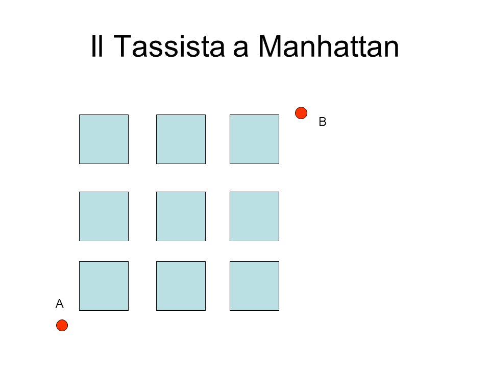 Il Tassista a Manhattan B A