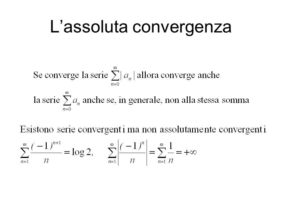 Lassoluta convergenza