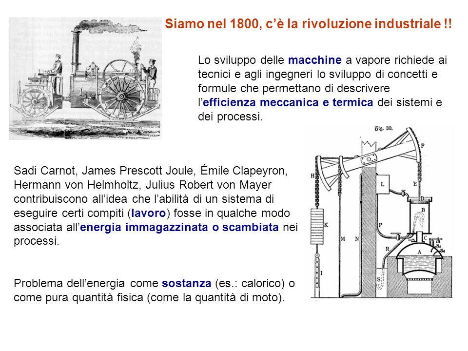 Riferendosi ad una disputa tra Joule e Carnot su alcuni problemi concettuali e sperimentali relativi alla conversione di calore in lavoro e in macchine a vapore, William Thomson (Lord Kelvin) nel 1849 argomentò che qualcosa dovesse conservarsi, qualcosa che coinvolgeva sia il lavoro che la vis viva.