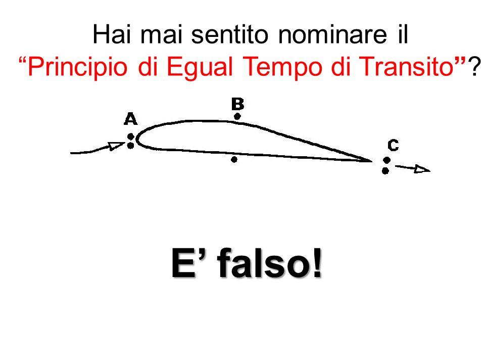 Hai mai sentito nominare il Principio di Egual Tempo di Transito? E falso!