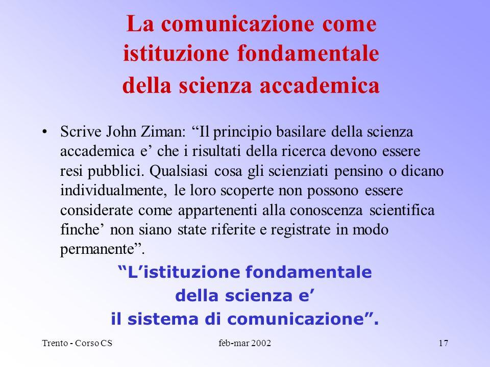 Trento - Corso CSfeb-mar 200216 La valigia con doppio fondo del comunicatore scientifico Gli strumenti di base: come tradurre il linguaggio della scie