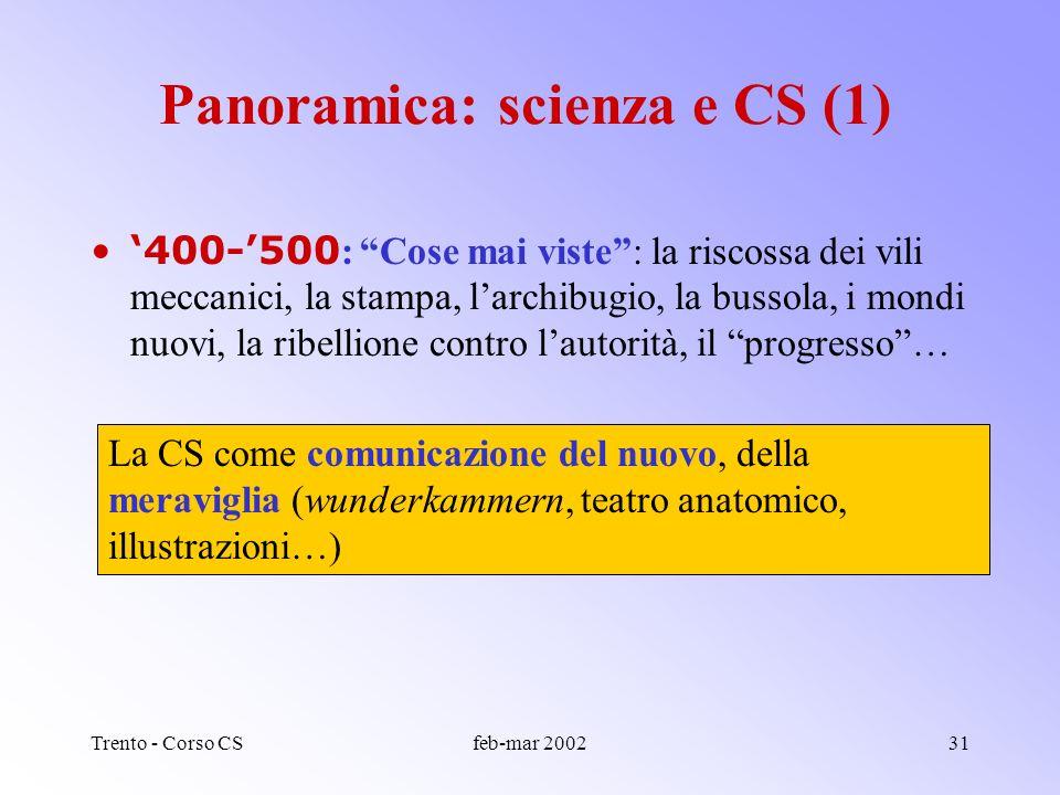 Trento - Corso CSfeb-mar 200230 TITOLO: contenutiTITOLO: suggerimenti Il titolo deve descrivere con chiarezza e precisione il contenuto. Il lettore de