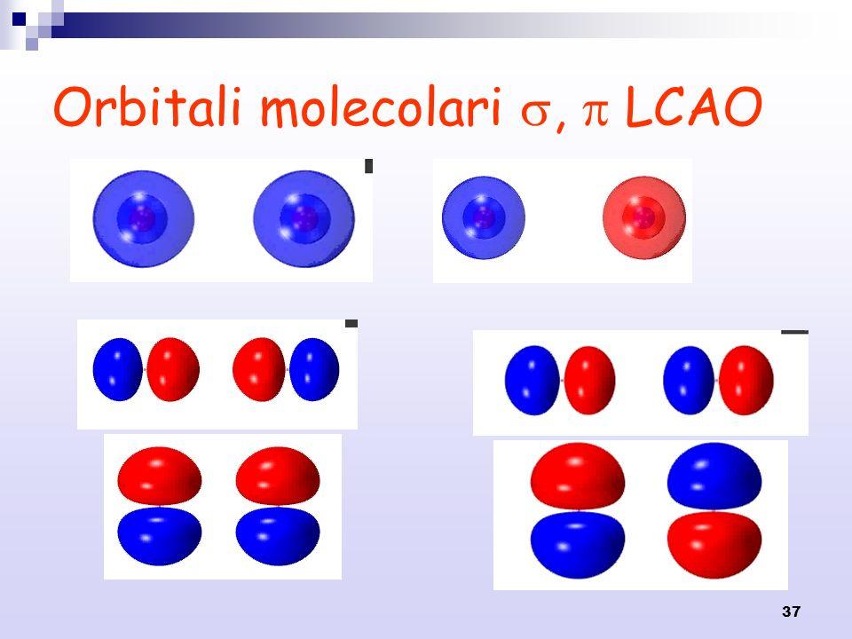 37 Orbitali molecolari, LCAO