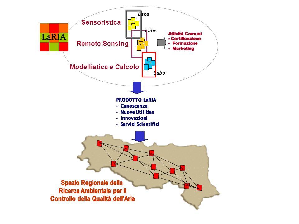 - Modellistica e Calcolo Labs Sensoristica Remote Sensing