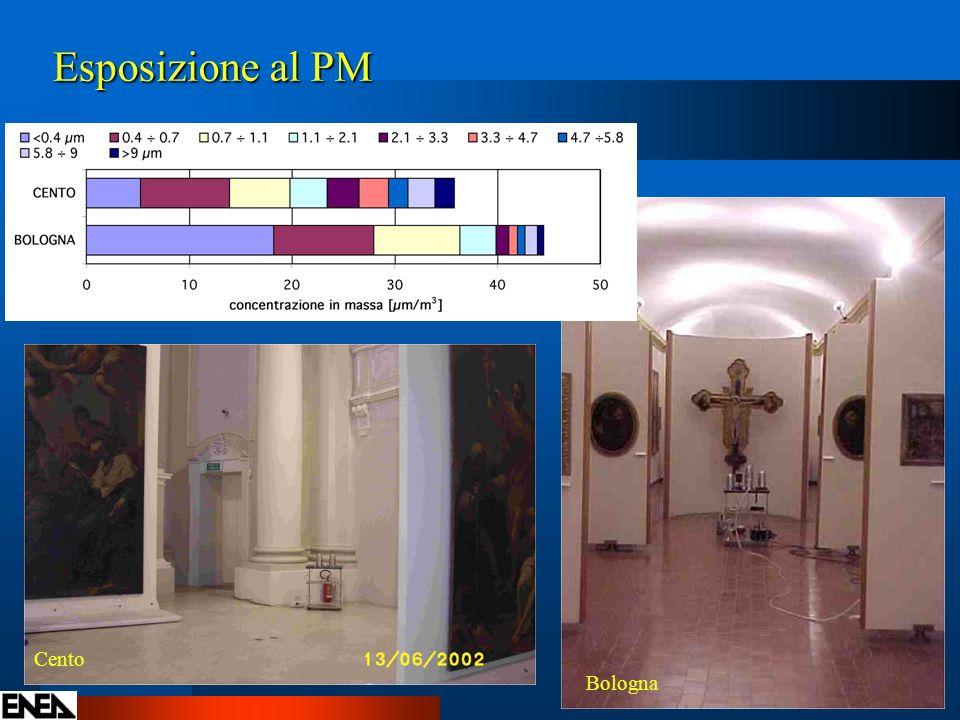 Esposizione al PM Cento Bologna