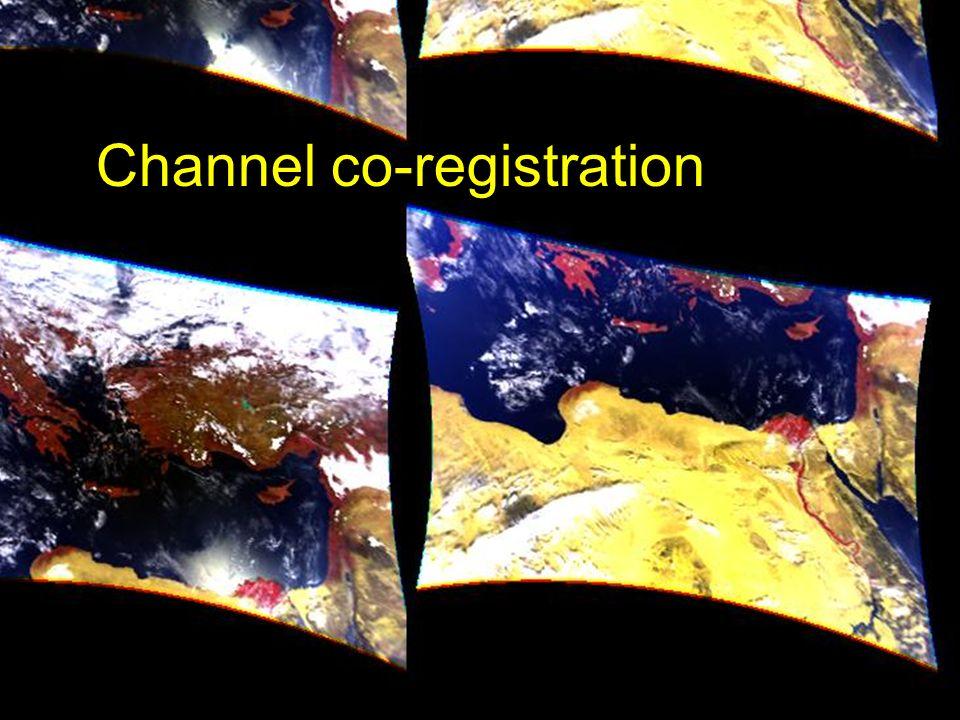 Channel co-registration