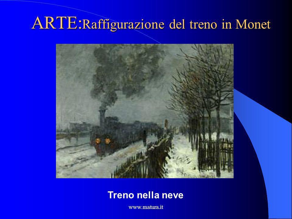 www.matura.it ITALIANO :Limmagine del treno Carducci nel corso della sua vita si presenterà di fronte al progresso e alle nuove macchine, in particola