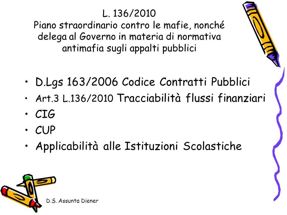 D.S.Assunta Diener L.