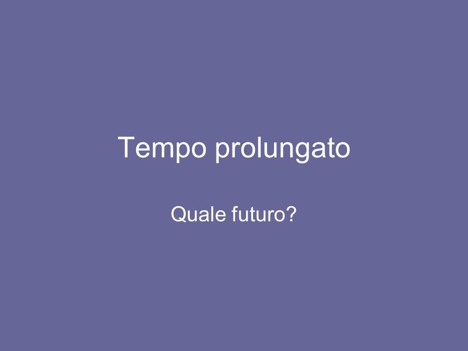 Tempo prolungato Quale futuro?