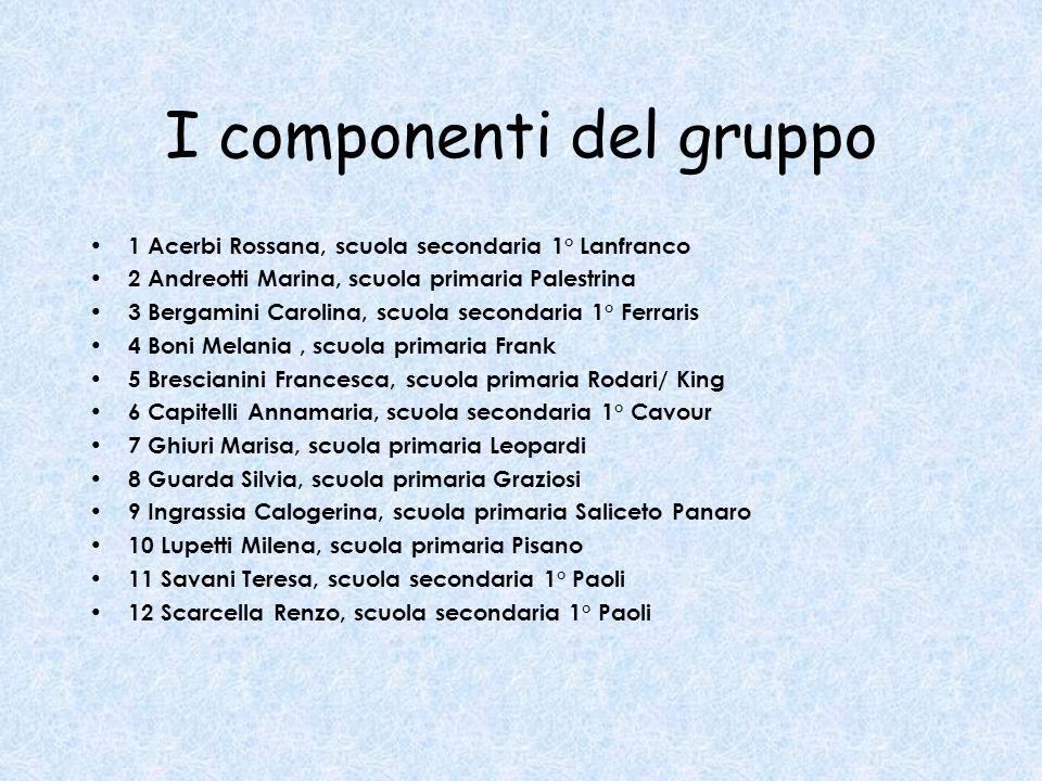 ALCUNE CONSIDERAZIONI Non erano rappresentati tutti i circoli e le scuole secondarie di 1° grado di Modena.