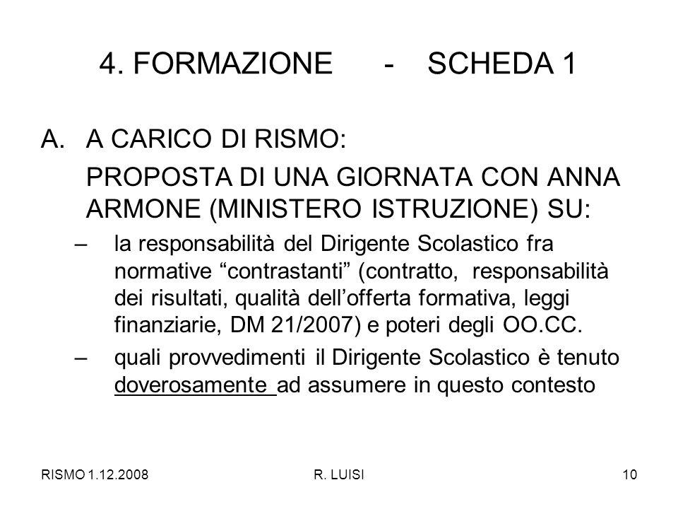 RISMO 1.12.2008R. LUISI10 4.