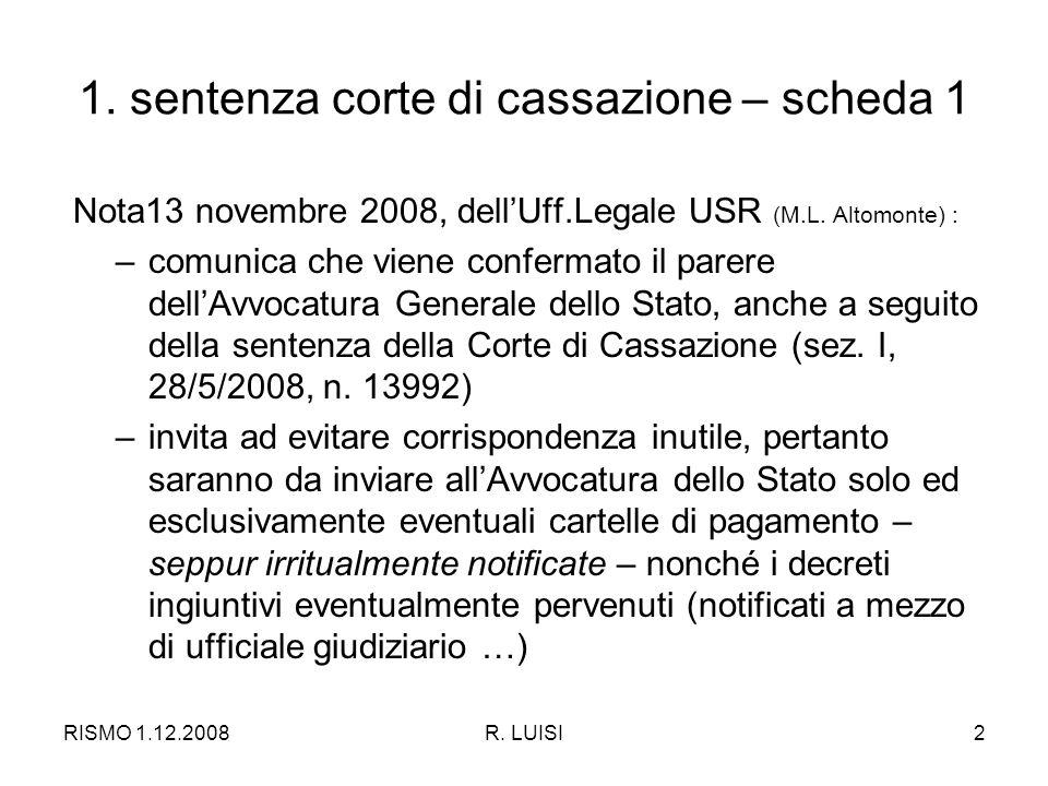RISMO 1.12.2008R. LUISI2 1.