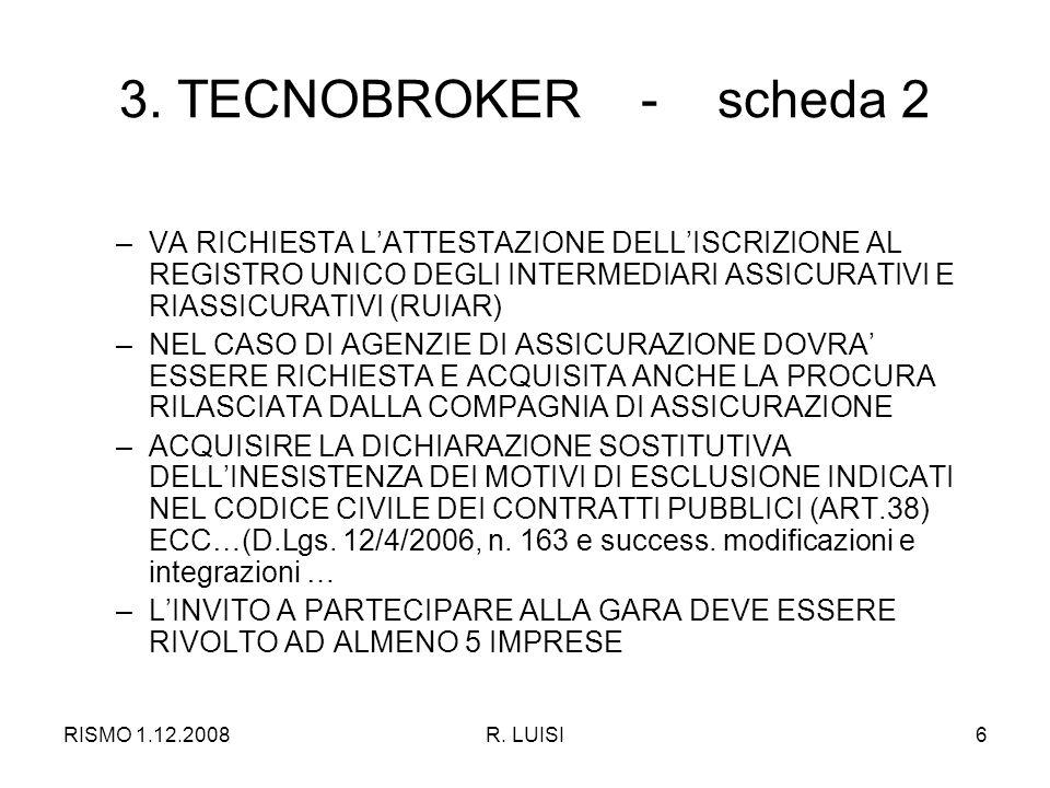 RISMO 1.12.2008R. LUISI6 3.