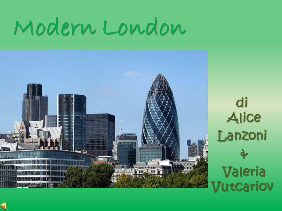Modern London di Alice Lanzoni & Valeria Vutcariov Valeria Vutcariov
