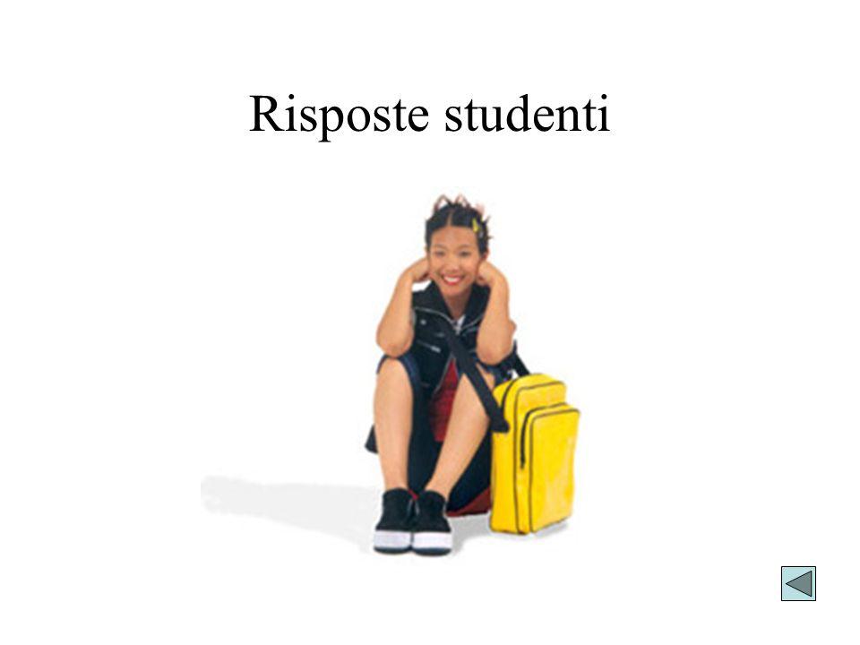 Risposte studenti