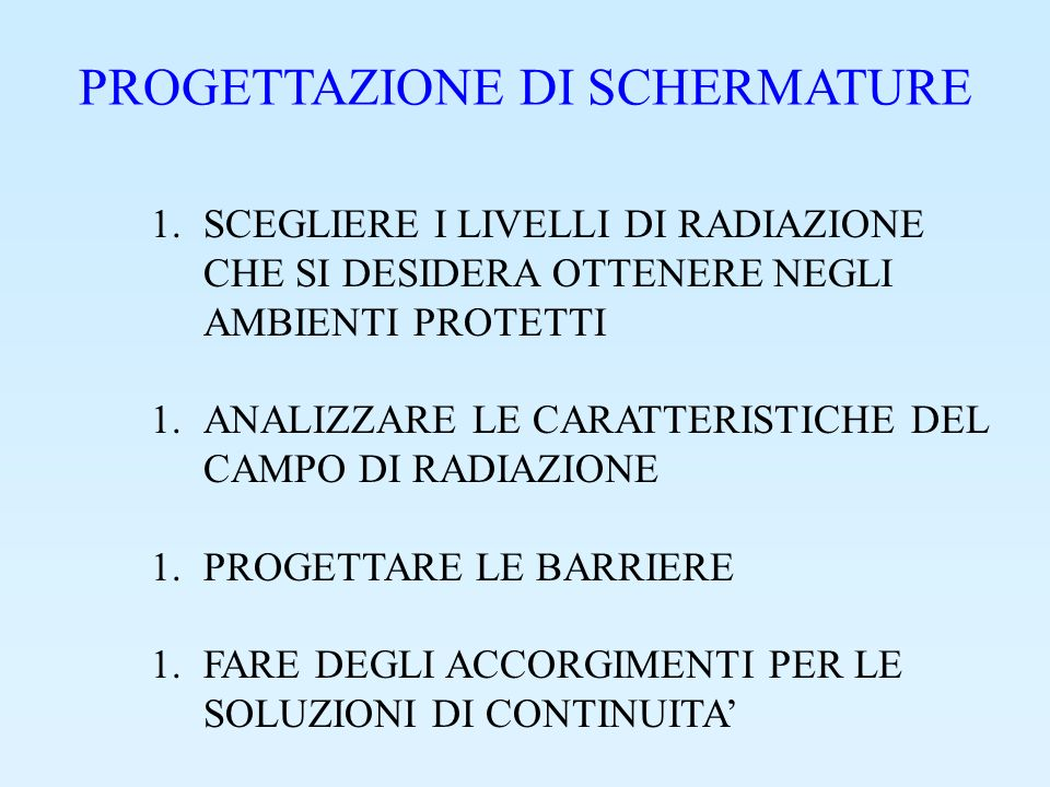 1.2 ELETTRONI PERDITA DI ENERGIA PER: IONIZZAZIONE IRRAGGIAMENTO PRODUZIONE DI FOTONI UTILIZZO DI MATERIALI LEGGERI (A BASSO Z) PER DIMINUIRE LA PROBABILITA DI IRRAGGIAMENTO.