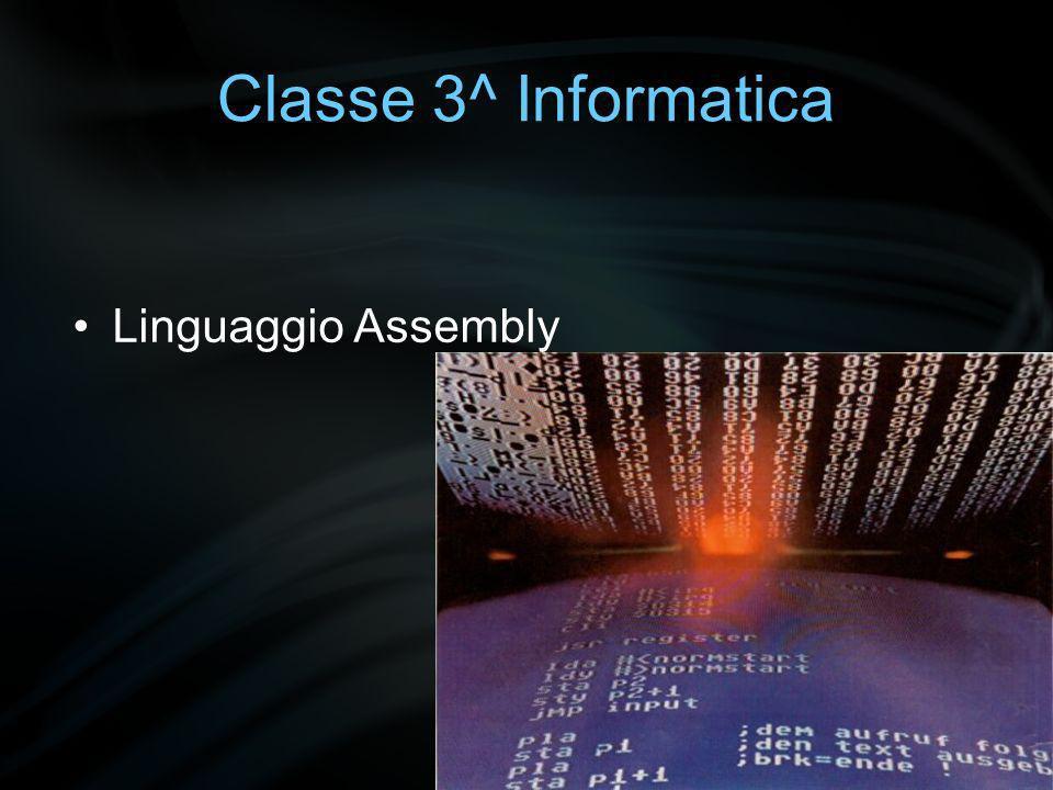 Classe 3^ Informatica HTML