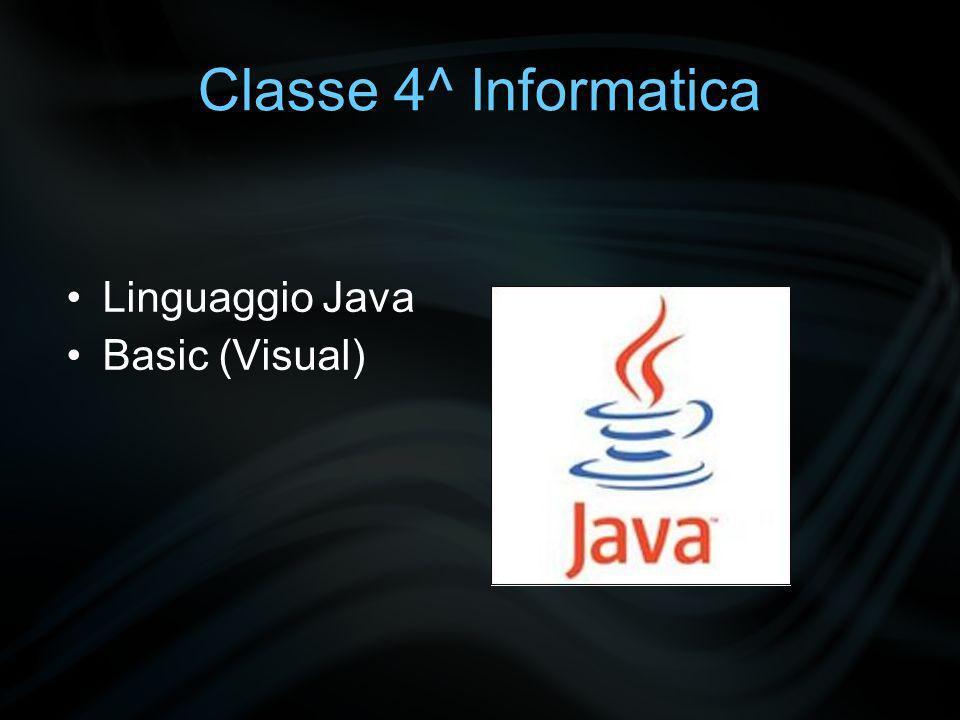 Classe 4^ Informatica Sistemi operativi utilizzati: Windows / Linux