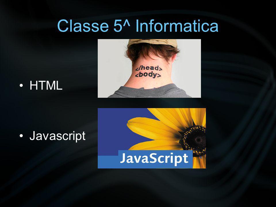 Classe 5^ Informatica PHP SQL