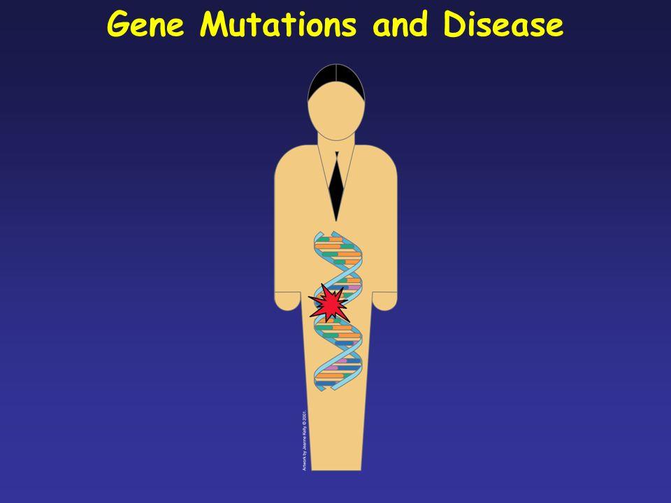 La stragrande maggioranza delle mutazioni insorte casualmente non ha alcun effetto visibile (mutazioni neutre); di contro, mutazioni patogene possono causare direttamente una malattia genetica o contribuire alla suscettibilità verso una malattia.