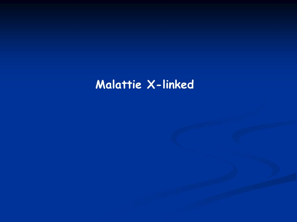 Malattie X-linked