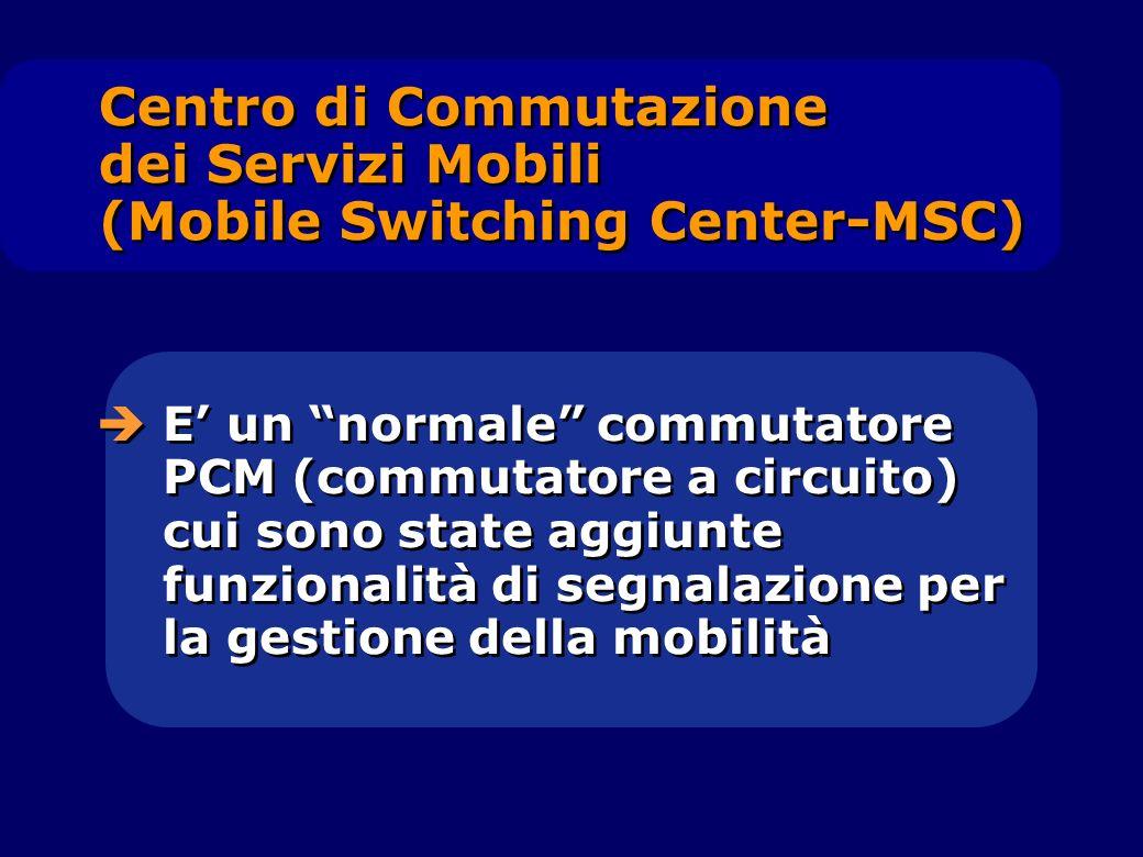 E un normale commutatore PCM (commutatore a circuito) cui sono state aggiunte funzionalità di segnalazione per la gestione della mobilità Centro di Co
