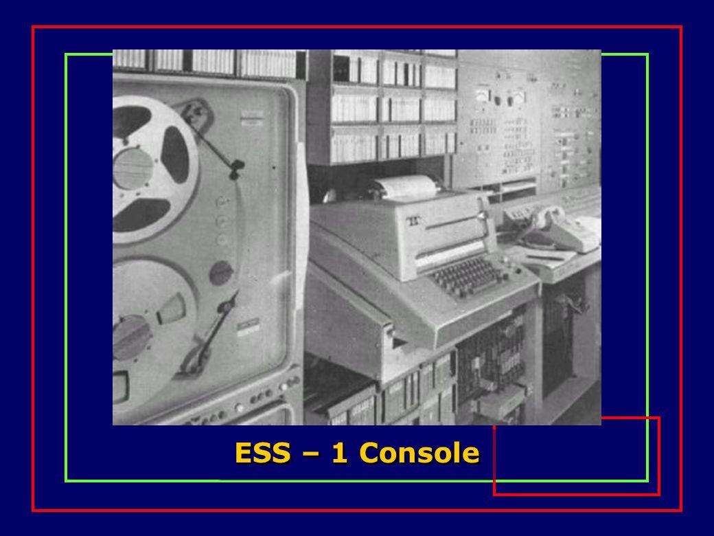 ESS – 1 Console