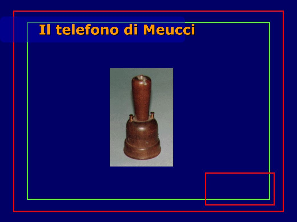 Il telefono di Meucci