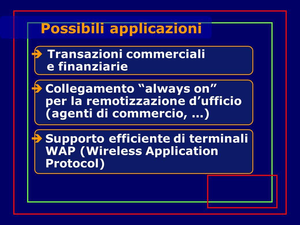 Connessioni Punto-Punto, Multicast e Group Call Servizi Offerti Servizi datagram oppure orientati alla connessione