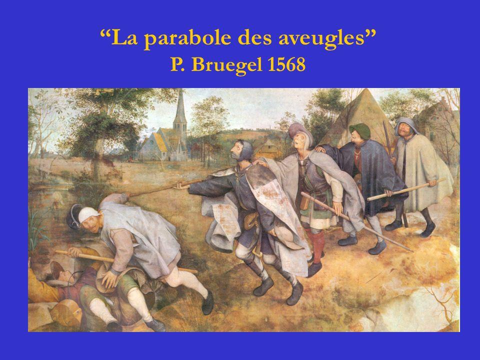 La parabole des aveugles P. Bruegel 1568