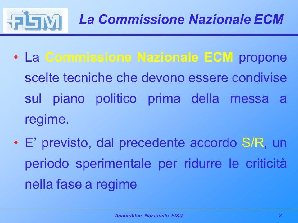 14Assemblea Nazionale FISM La certificazione – Le motivazioni PUNTI CRITICI 4.