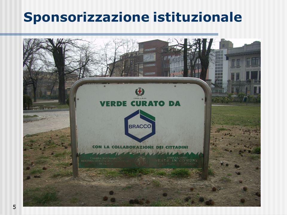 5 Sponsorizzazione istituzionale