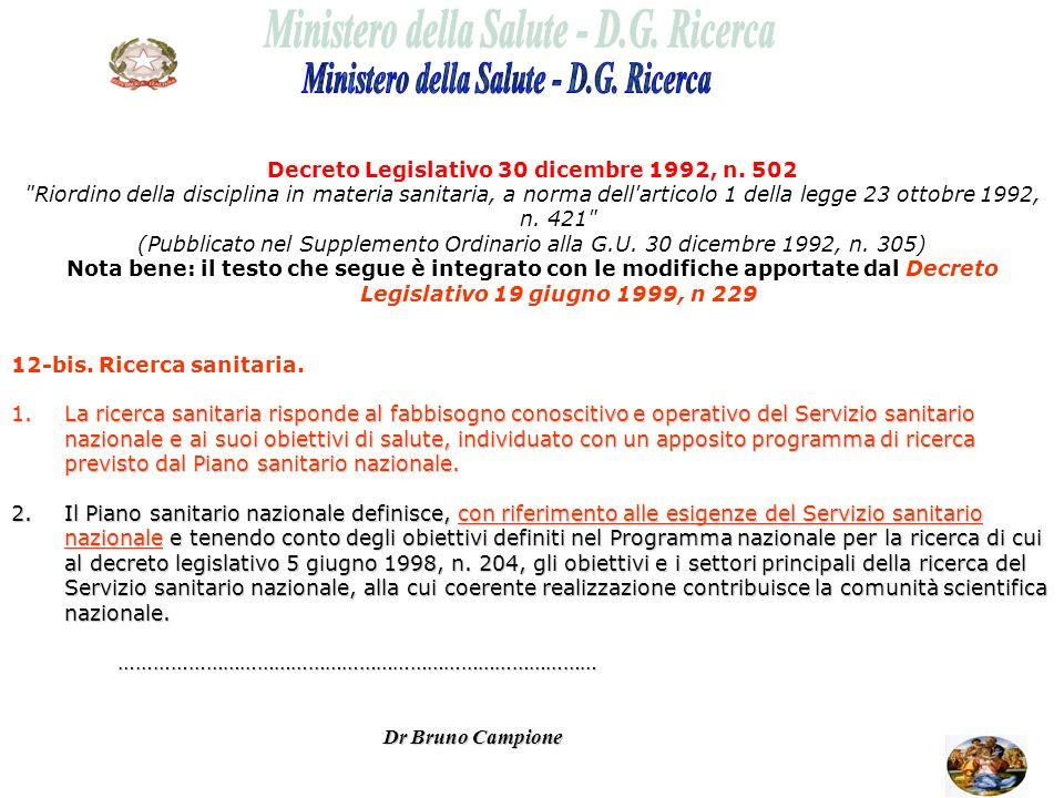 Decreto Legislativo 30 dicembre 1992, n. 502