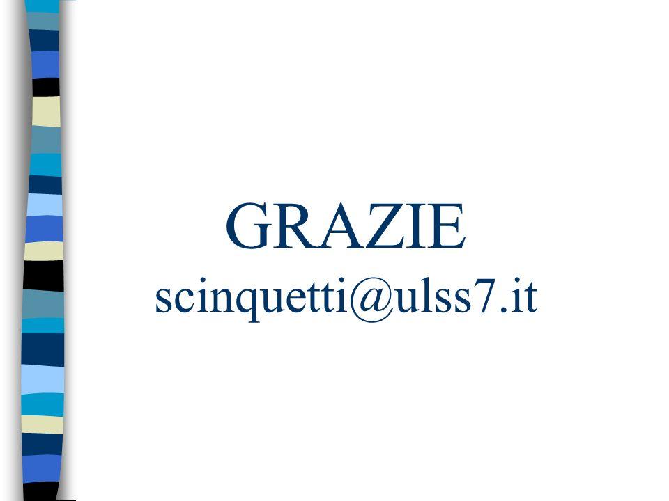 GRAZIE scinquetti@ulss7.it