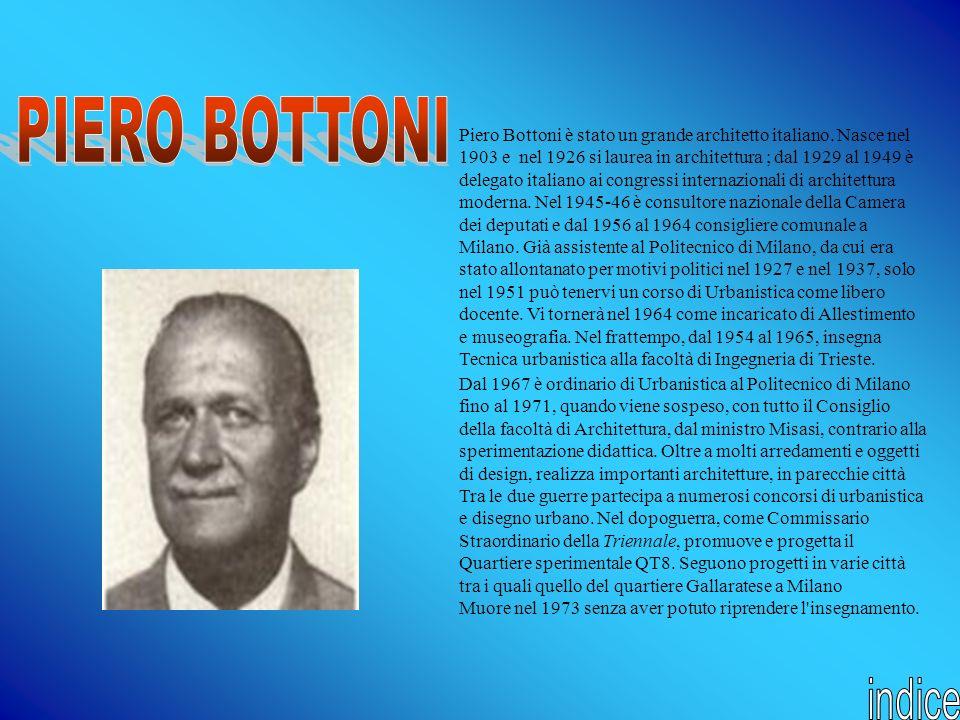 Dal 1967 è ordinario di Urbanistica al Politecnico di Milano fino al 1971, quando viene sospeso, con tutto il Consiglio della facoltà di Architettura,