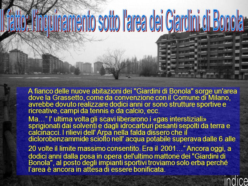 Tra la fine degli anni ottanta e i primi anni novanta viene realizzato un ampio complesso edilizio residenziale al quartiere Gallaratese denominato Giardini di Bonola.