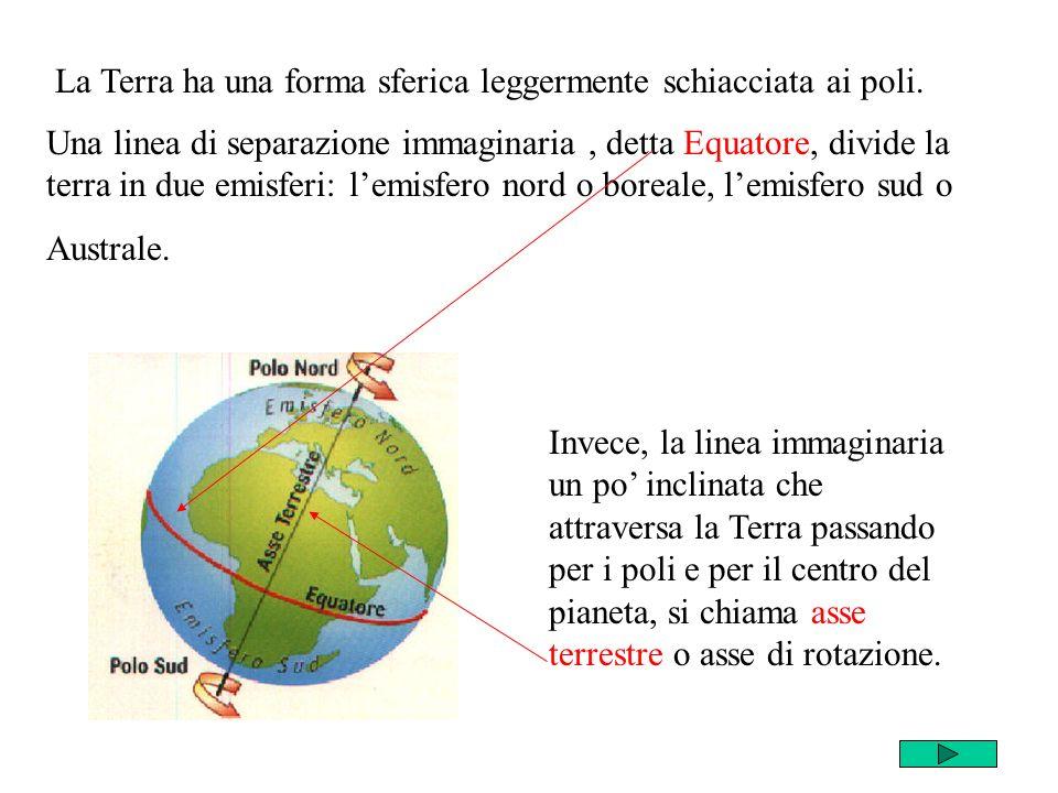 Il movimento che la Terra compie intorno al Sole è detto moto di rivoluzione.