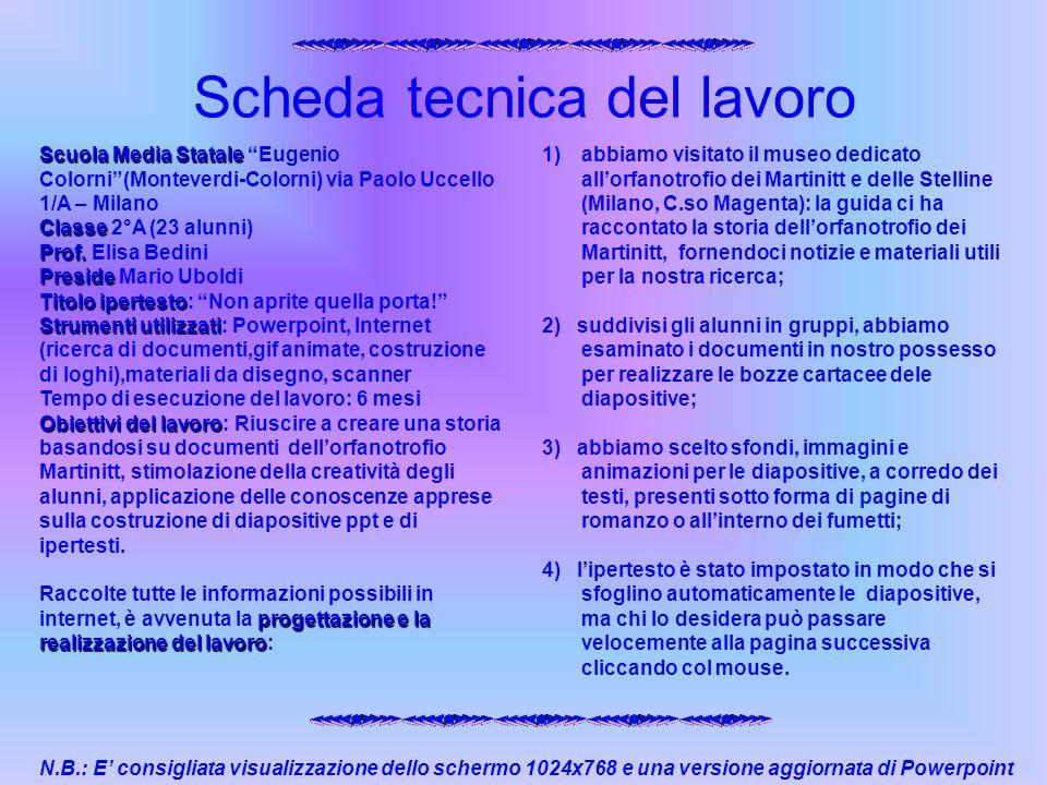 Scuola Media Statale Scuola Media Statale Eugenio Colorni(Monteverdi-Colorni) via Paolo Uccello 1/A – Milano Classe Classe 2°A (23 alunni) Prof. Prof.