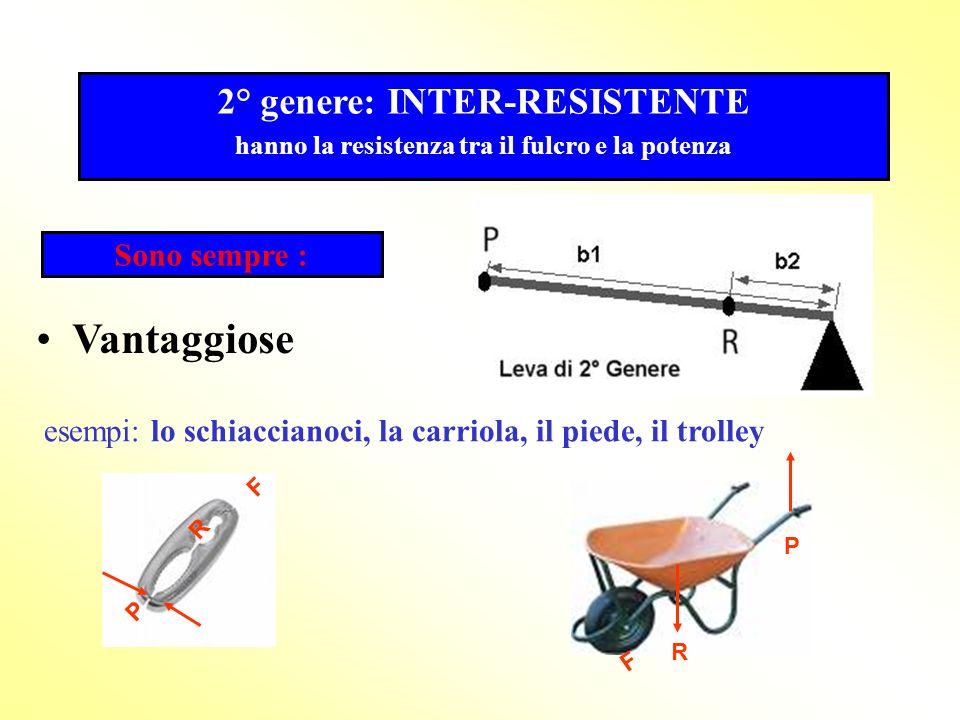 Le leve sono indifferenti quando la P è uguale ad R perchè il braccio della potenza è uguale al braccio della resistenza. F P RBpBr