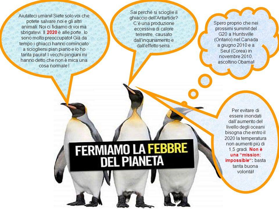 Sai perché si scioglie il ghiaccio dell'Antartide? Cè una produzione eccessiva di calore terrestre, causato dall'inquinamento e dall'effetto serra. Ai