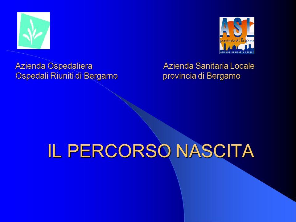 Azienda OspedalieraAzienda Sanitaria Locale Ospedali Riuniti di Bergamo provincia di Bergamo IL PERCORSO NASCITA