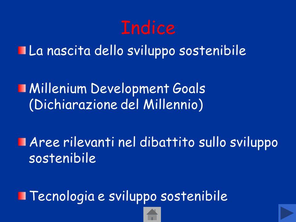 Unaltra forma di sviluppo Lo sviluppo sostenibile