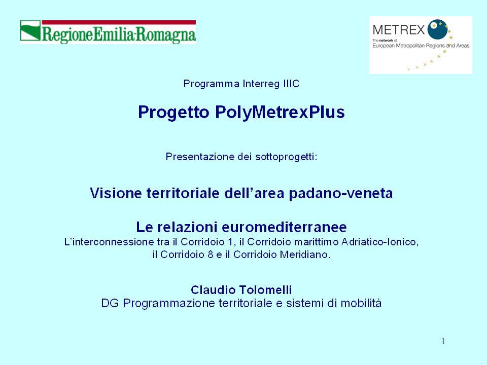 Claudio Tolomelli Presentazione Progetto PolyMetrexPlus 2 Incontro organizzato da: