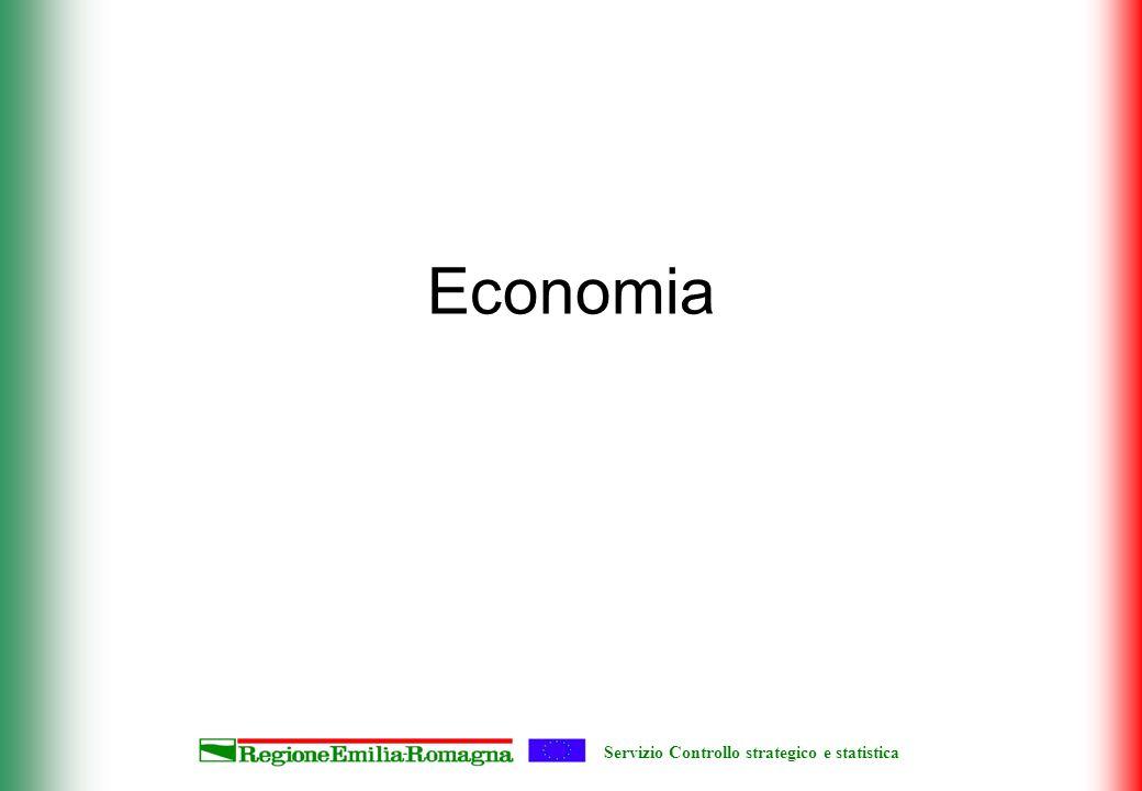 Servizio Controllo strategico e statistica Economia
